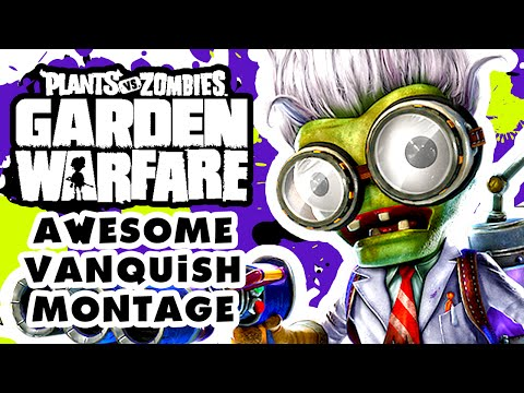 Plants vs. Zombies: Garden Warfare Awesome Scientist Vanquish Montage