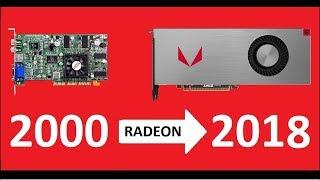 Evolution of Radeon 2000 - 2018 . Amd and Ati graphics cards