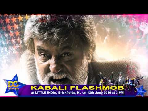 KABALI FLASHMOB ON 12TH JUNE | LITTLE INDIA, BRICKFIELDS, KL | #SUPERSTAR RAJNIKANTH