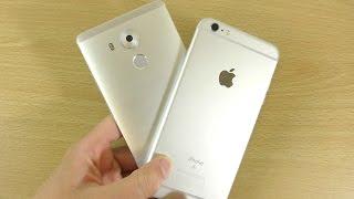 Huawei Mate 8 VS Apple iPhone 6S Plus - Speed & Camera Test!
