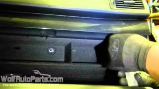 How to Remove Your Glove Box - B6-B7 Audi A4 2002-2008 (Wolf Auto Parts)