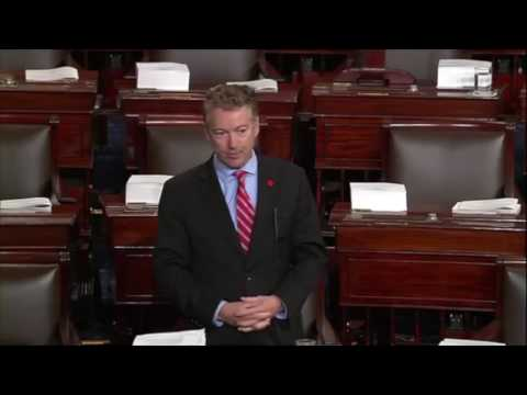 Rand Paul Refuses to Vote Without Reading the Bill