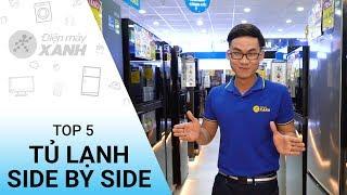 Top 5 tủ lạnh sang trọng dung tích lớn bán chạy - Cho cuộc sống dễ dàng hơn | Điện máy XANH