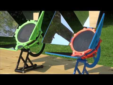 3d printed Solar Stirling Engine