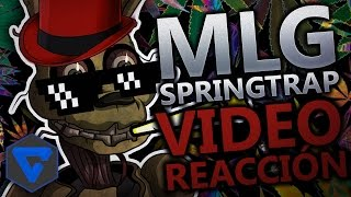 SPRINGTRAP MLG ANIMACION ! FIVE NIGHTS AT FREDDY