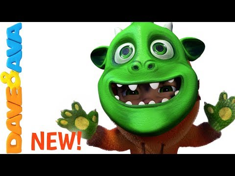 👾 If You're Monster and You Know It | Halloween Song | Scary Nursery Rhymes from Dave and Ava 👾
