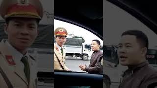 Việt TV- Bác tài thách CSGT Gia Lâm lập biên bản