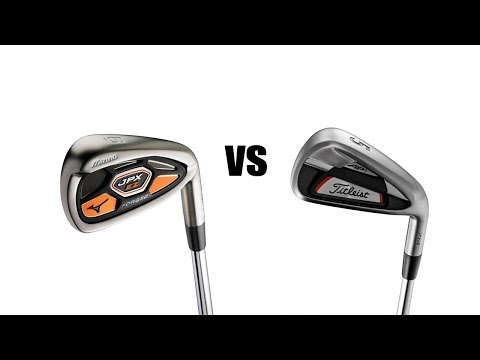 Titleist 714 AP1 Vs Mizuno JPX EZ Forged Irons Comparison and Review