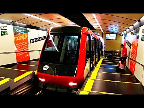 Funicular Train Adventure in Barcelona.