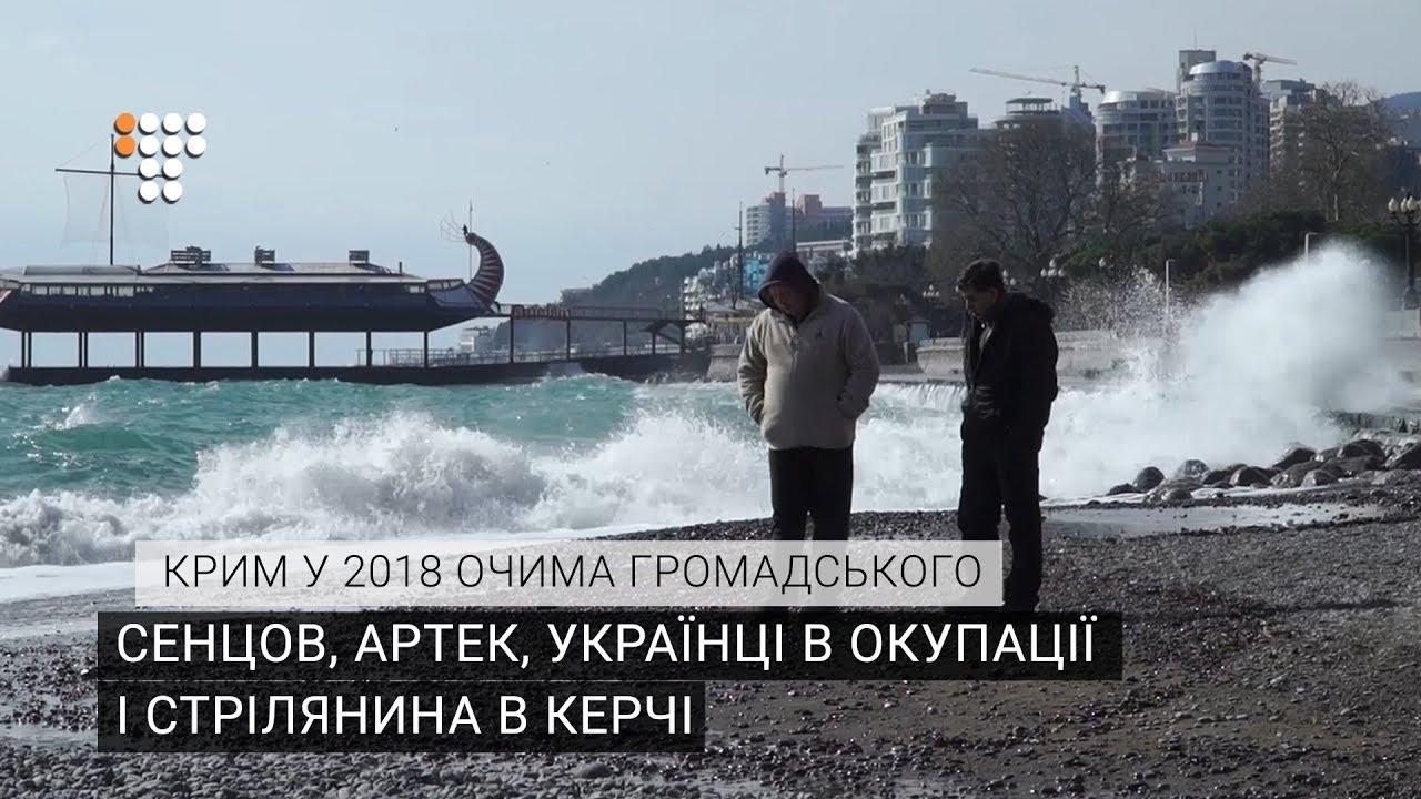 Сенцов, Артек, українці в окупації, стрілянина в Керчі – Крим у 2018 очима Громадського