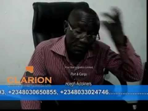 CLARION SHIPPING WEST AFRICA LTD LAGOS NIGERIA  PART 2.mp4