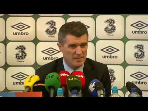 Republic of Ireland v Bosnia and Herzegovina - Post Match Presser - Roy Keane (17/11/15)