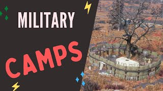 Fallout 76 | All Military Camp Locations (Ballistic Fiber)