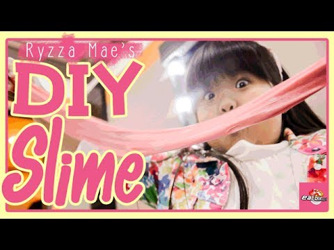 DIY FLUFFY SLIME with Ryzza Mae! thumbnail