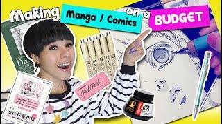 ? How to Make Manga & Comics on a BUDGET ?