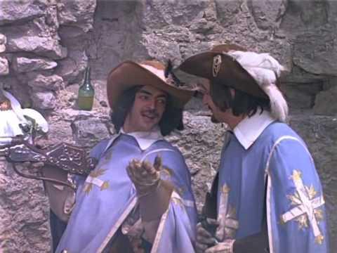 Печальный момент из Д`Артаньян и три мушкетера