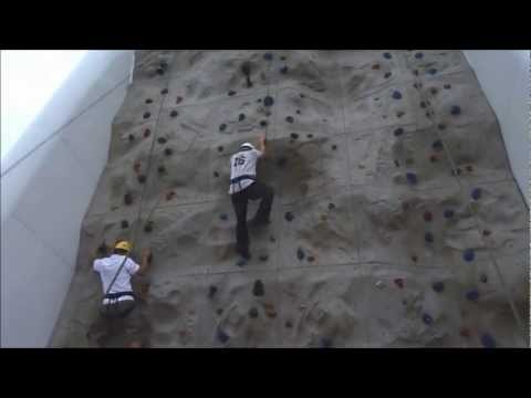 Rock Climbing - Royal Caribbean Cruises Legend Of The Seas