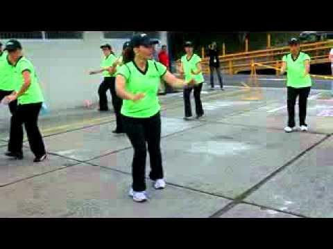 Baile aerobico para Principiantes: Sesion de  Salsa