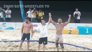 Inam butt (PAK) vs DATO (GEO) FInal & GOLD MEDAL match AT anoc World BEach Games 2019