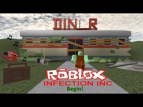 Infection в Роблокс создаём армию Зомби Детское игровое видео Let's Play