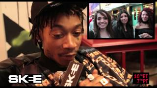 Wiz Khalifa Reacts to Fan Laugh Impressions
