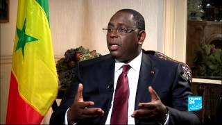 Macky Sall, Interview France24
