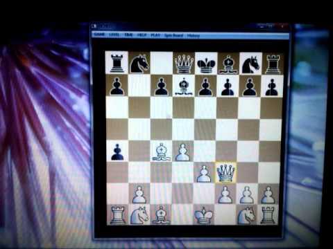 DAMIN gambit crni je gotov,trik # 82 sah i mat