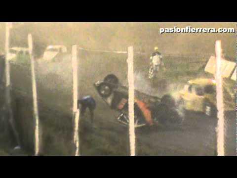 Vuelco Leonardo Cimino Speedway 2da fecha El Santo Temporada 2011