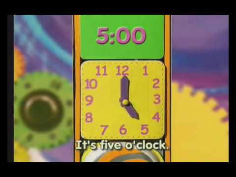 English Time Songs, Kids Songs, What Time Is It? video