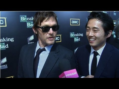 The Walking Dead's Norman Reedus and Steven Yeun Size Up Their Zombie Survival Skills Music Videos