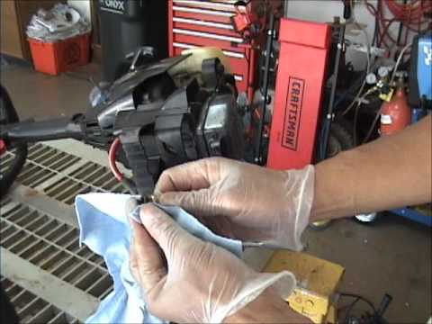 How to tune up a Craftsman weed wacker