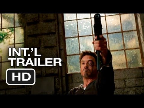 Iron Man 3 International TRAILER 2 (2013) - Marvel Movie HD