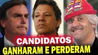 Jair Bolsonaro e Haddad Estão Segundo Turno, Candidatos Famosos que Ganharam e Perderam nas Eleições