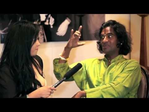 ART IN FUSION TV  Majestic Studio interview Raghunath Manet during Cannes Film Festival