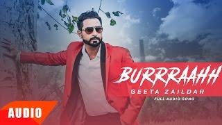 Burraahh (Full Audio Song) | Geeta Zaildar | Punjabi Song Collection | Speed Records
