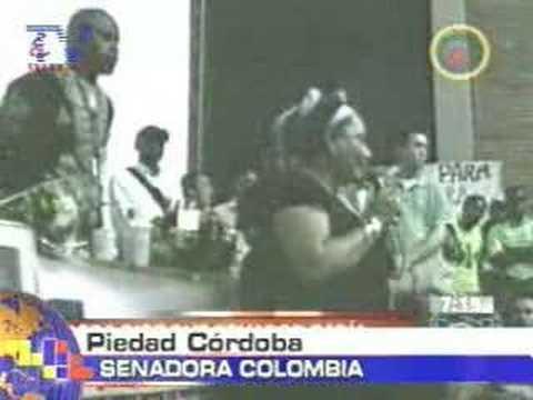 Senadora dice que Ecuador conocía de campamento