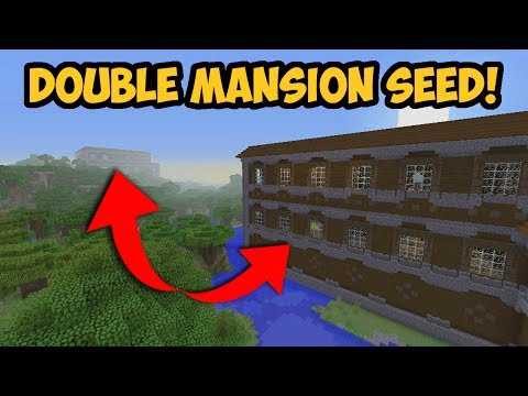 Minecraft Console - AMAZING 2 Woodland Mansions At Spawn! // TU54 - XBOX + PS4