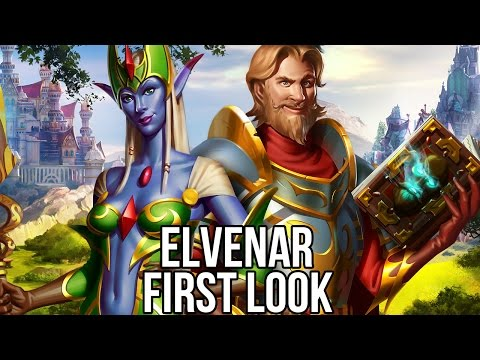 Elvenar (Free Strategy MMO): Watcha Playin'? Gameplay First Look