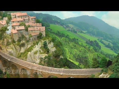 The France Vacation Model Railroad Layout In HO Scale - A Masterpiece Of Railway Modelling