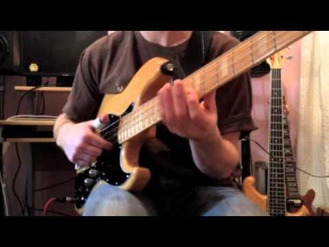 Slap bass - Mark King - Louis Johnson - Larry Graham Lesson...