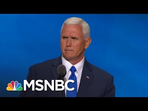 Mike Pence: When We Elect Donald Trump, We Will Make America Great Again | MSNBC