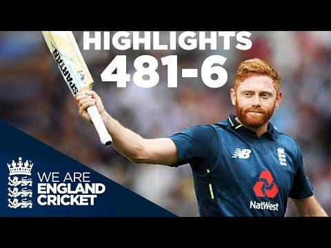 England Smash World Record 481-6   England v Australia 3rd ODI 2018 - Highlights thumbnail