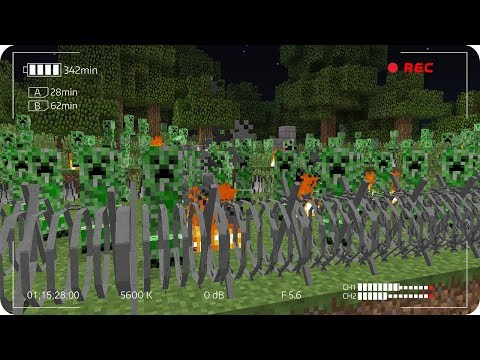 APOCALIPSIS DE CREEPERS EN MINECRAFT | RETO DE LA BASE VS APOCALIPSIS EN MINECRAFT
