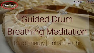 Guided Breathing Meditation Drumming | WARNING Extremely Powerful!10 mins ॐ