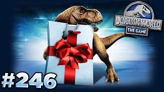 THE FINAL PRESENT IS?!?! || Jurassic World - The Game - Ep246 HD