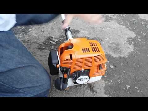 Roçadeira Stihl  FS 85 e 80 review /Como utilizar