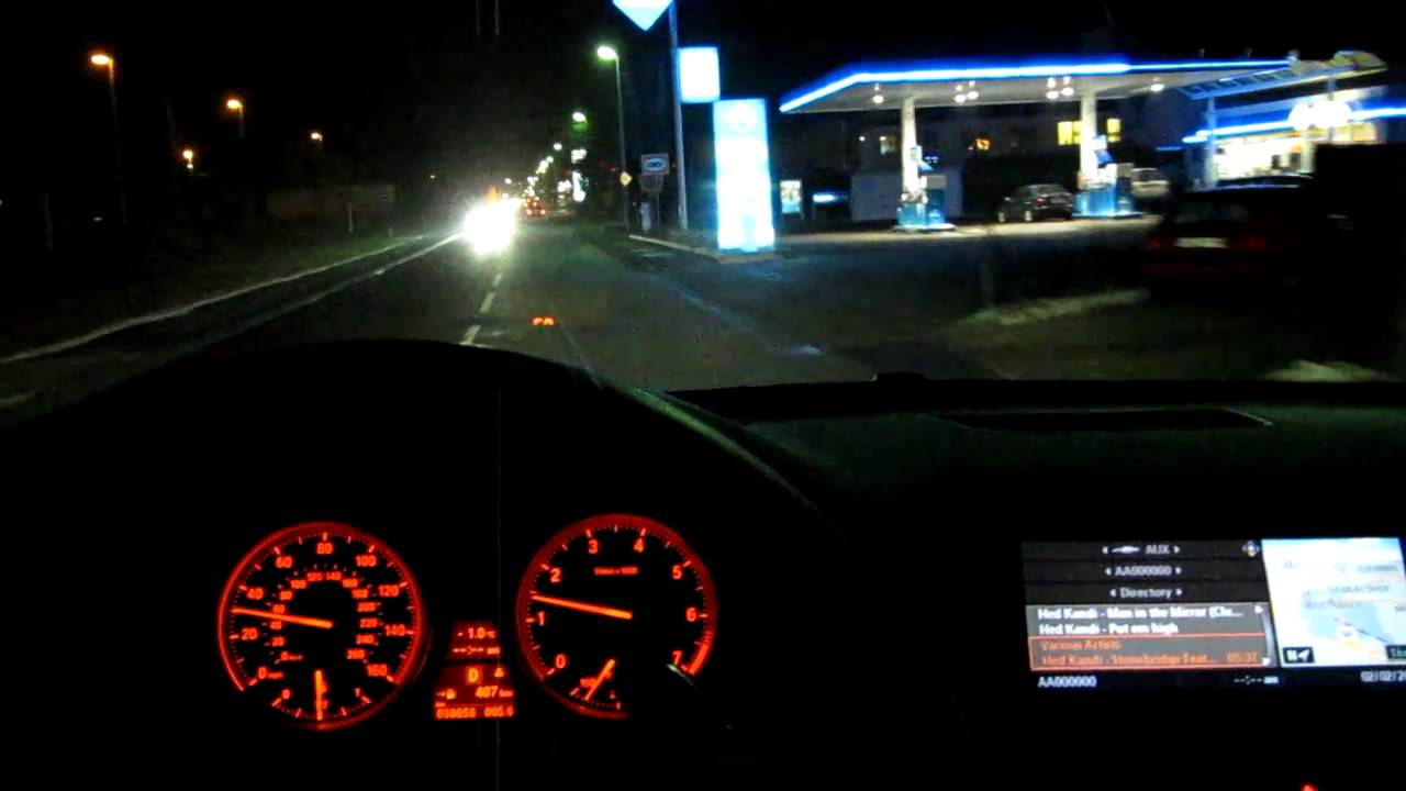 Bmw X6 50i Driving At Night Part 2 Youtube