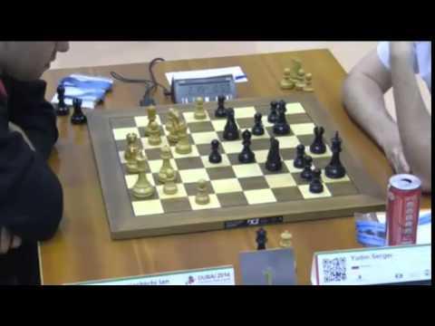 Nepomniachtchi vs Yudin - 2014 World Blitz Championship