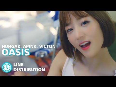 Apink, Victon, Huh Gak - OASIS : Line DIstribution (Color Coded Bars) MP3