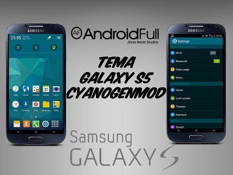 [Theme] Tema Galaxy S5 [CM11]    Apk    [Android Full]